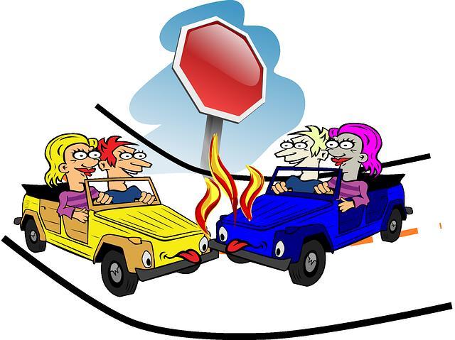 Crash voiture